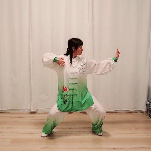 Qi Gong 2ème mouvement